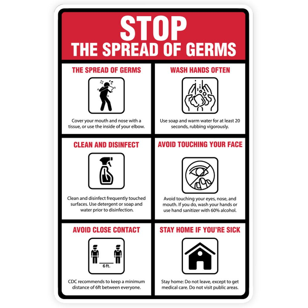 Stop The Spread Of Germs Tips 12