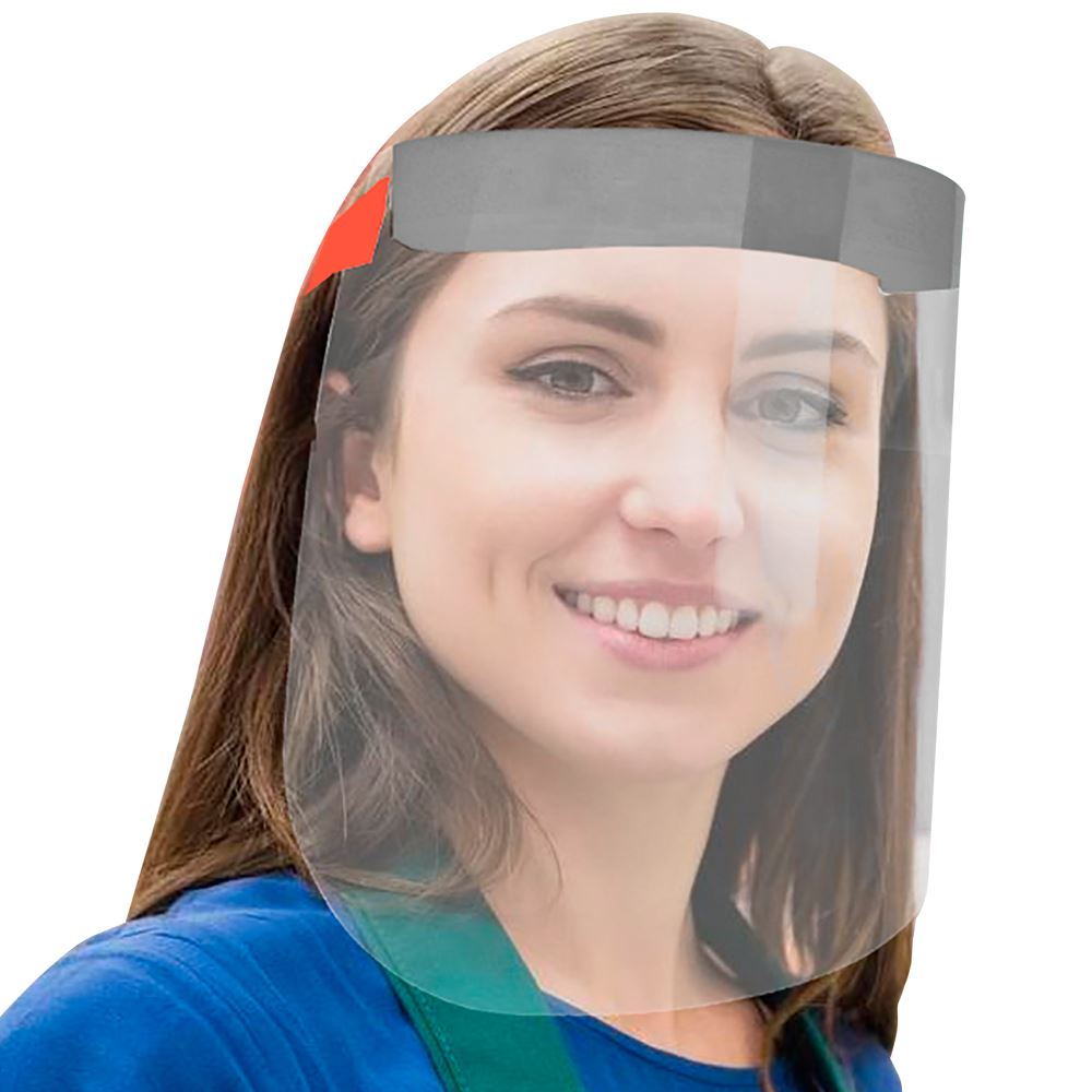 Face Shield with Adjustable Elastic Strap - Blank