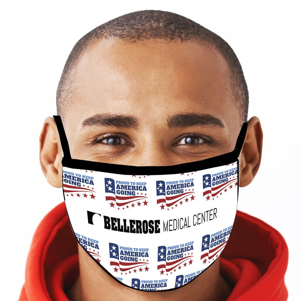 Keep America Going American Made 3-Ply Face Mask - Personalization Available