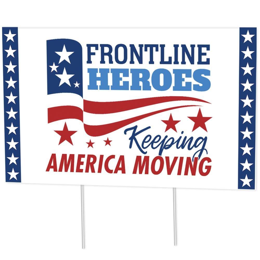Frontline Heroes Keep America Moving 18