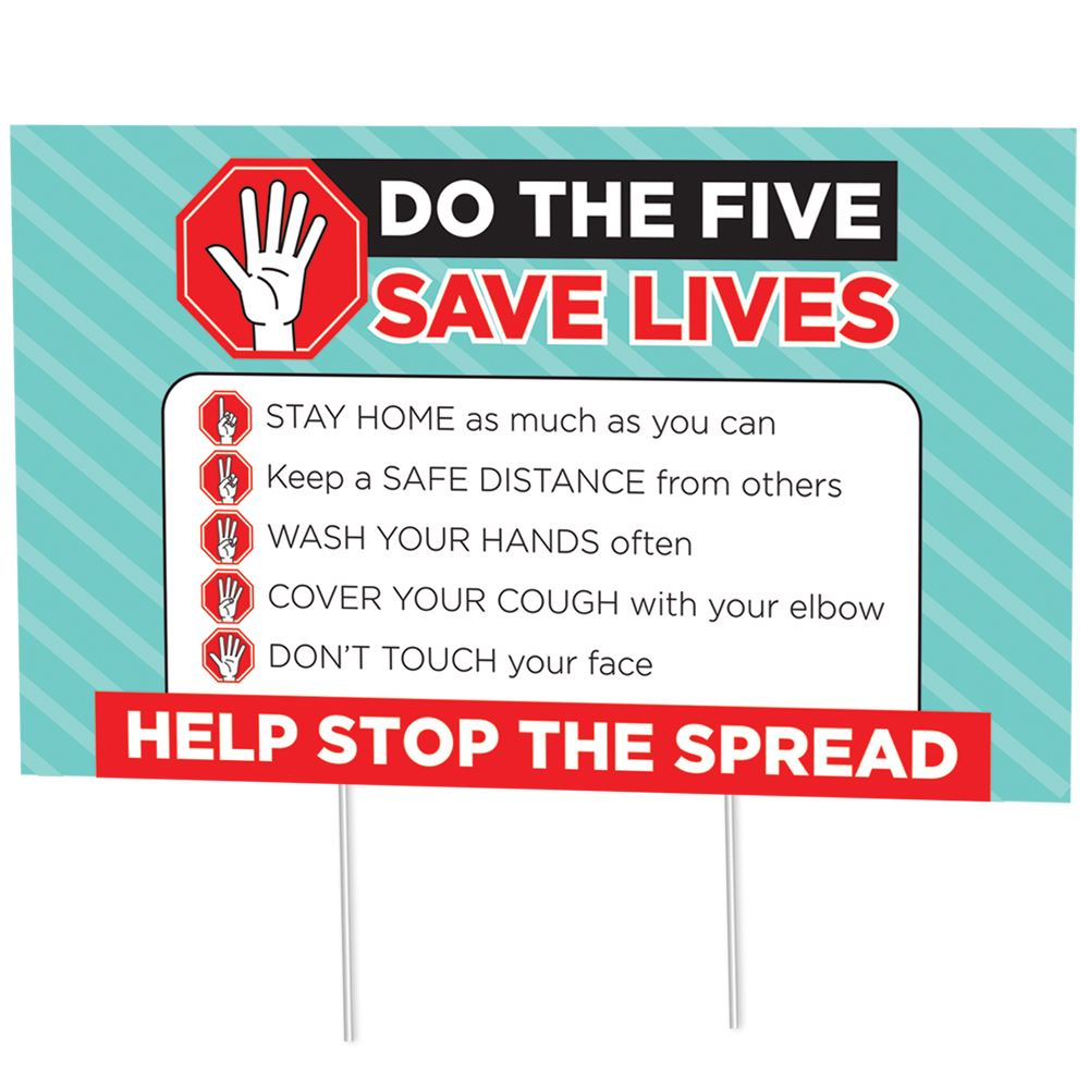 Do the Five Save Lives 18