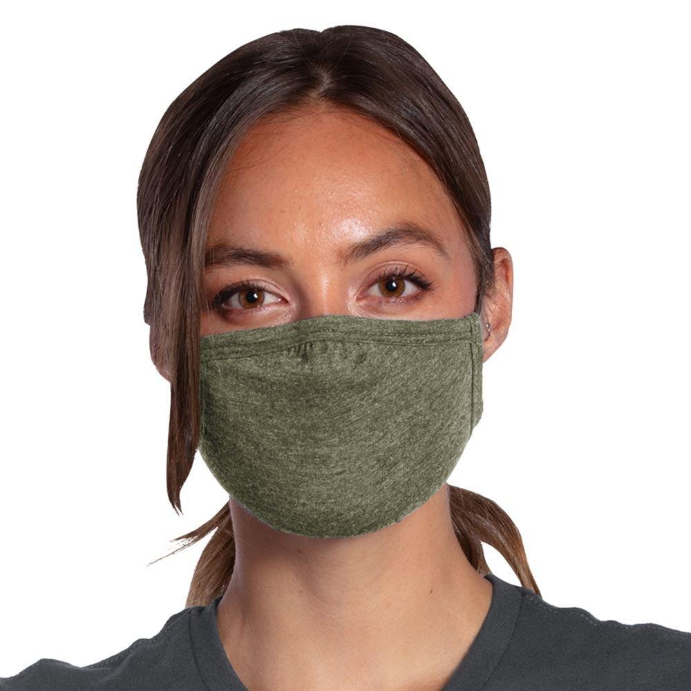 Allmade® 2-Ply Tri-Blend Organic Face Mask - Blank