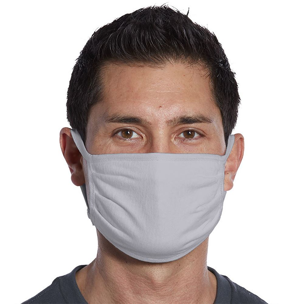 Port Authority® 3-Ply 100% Cotton Face Mask - Blank