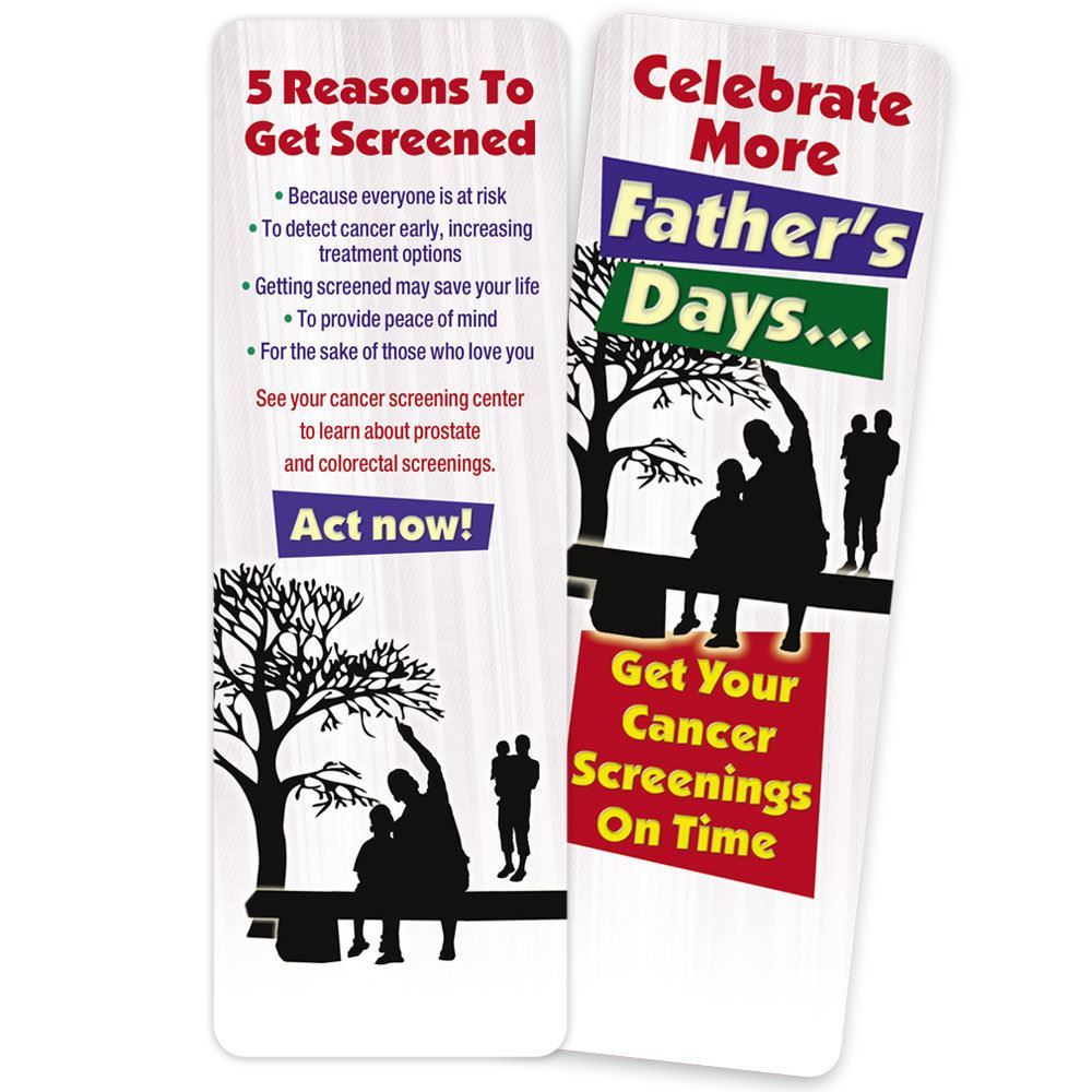 Celebrate More Father's Days Bookmark - Personalization Available