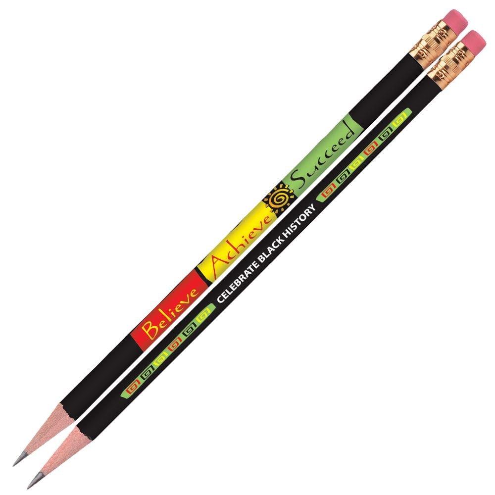 Believe, Achieve, Succeed Full-Color Pencil