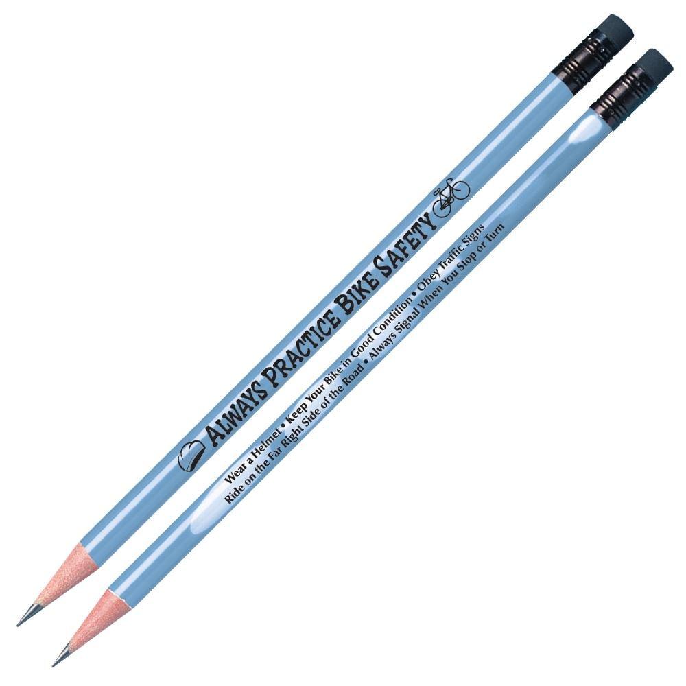 Always Practice Bike Safety Heat Sensitive Pencils