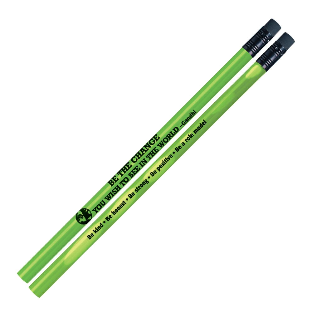 Be The Change You Wish To See In The World Heat-Sensitive Pencil - Pack of 100