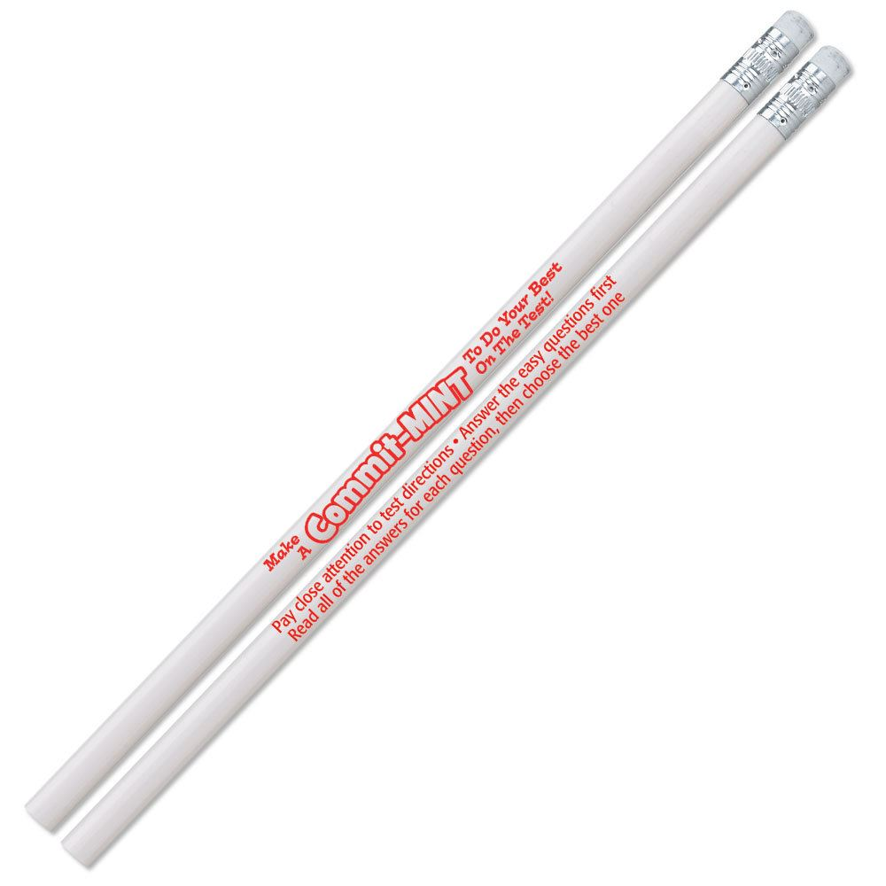 Make A Commit-MINT Peppermint-Scented Pencils - Pack of 25