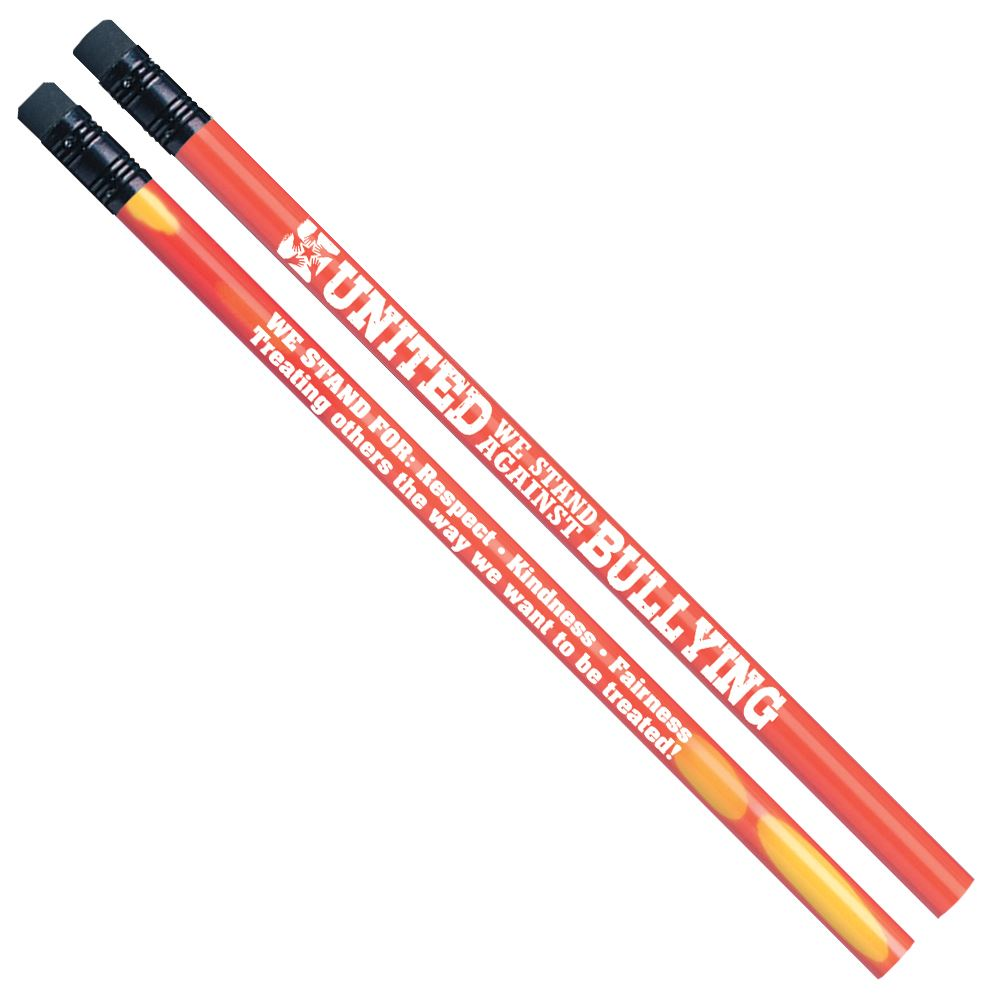 United We Stand Against Bullying Heat-Sensitive Pencil - 100 Per Pack