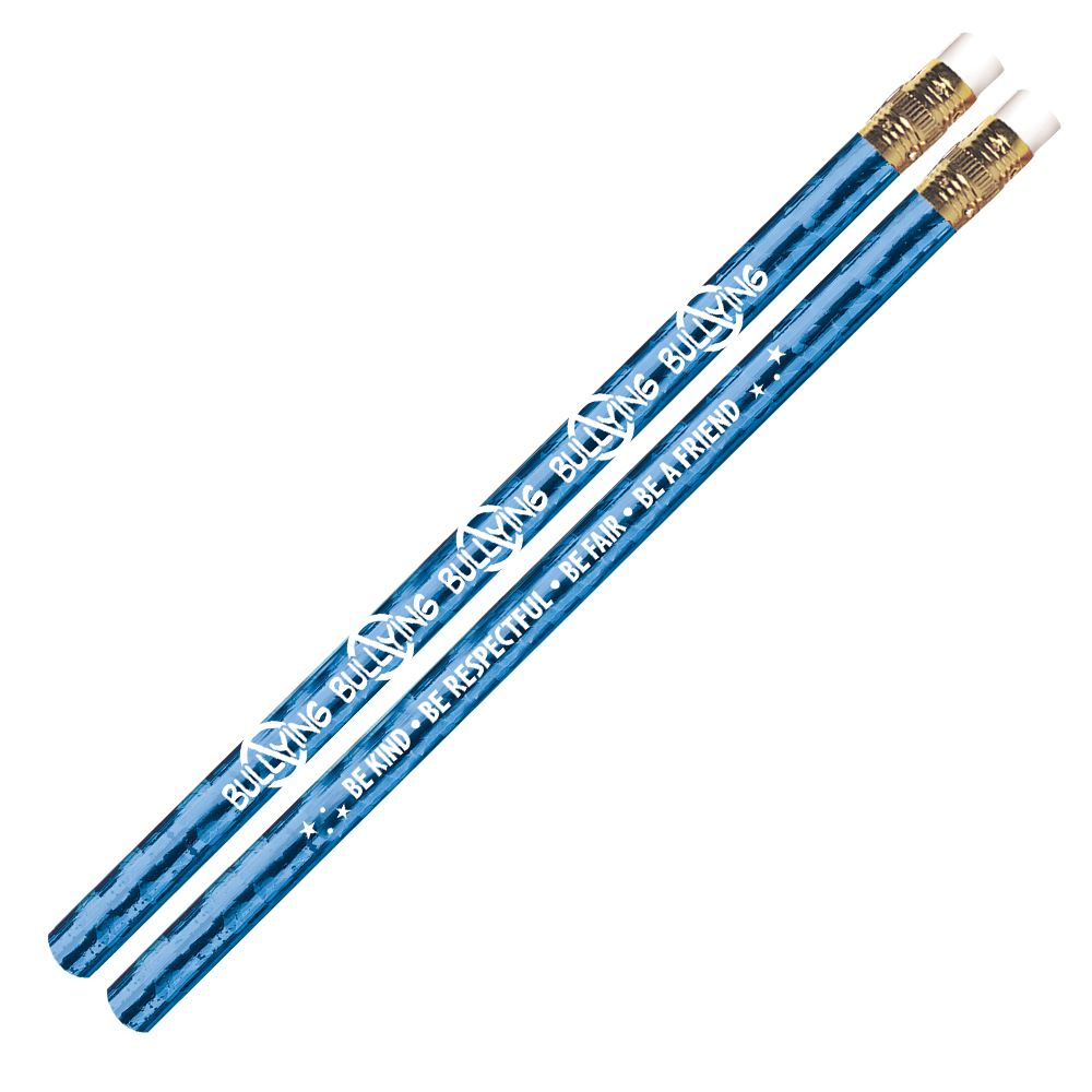 No Bullying Sparkle Foil Pencil