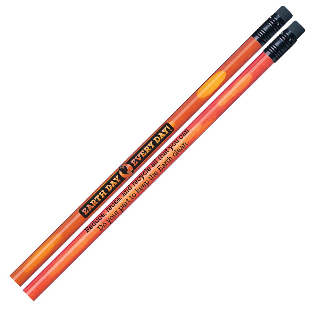 Earth Day Heat-Sensitive Pencils - Pack of 30