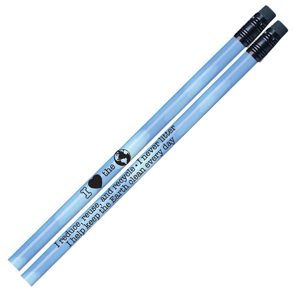 I Heart The Earth Heat-Sensitive Pencils