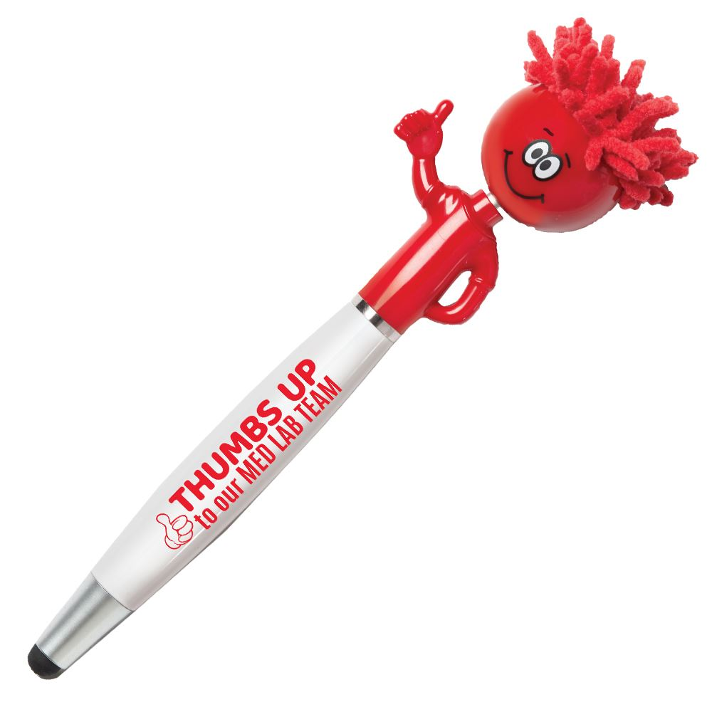Thumbs Up To Our Med Lab Team Mop Topper™ Sylus Pen
