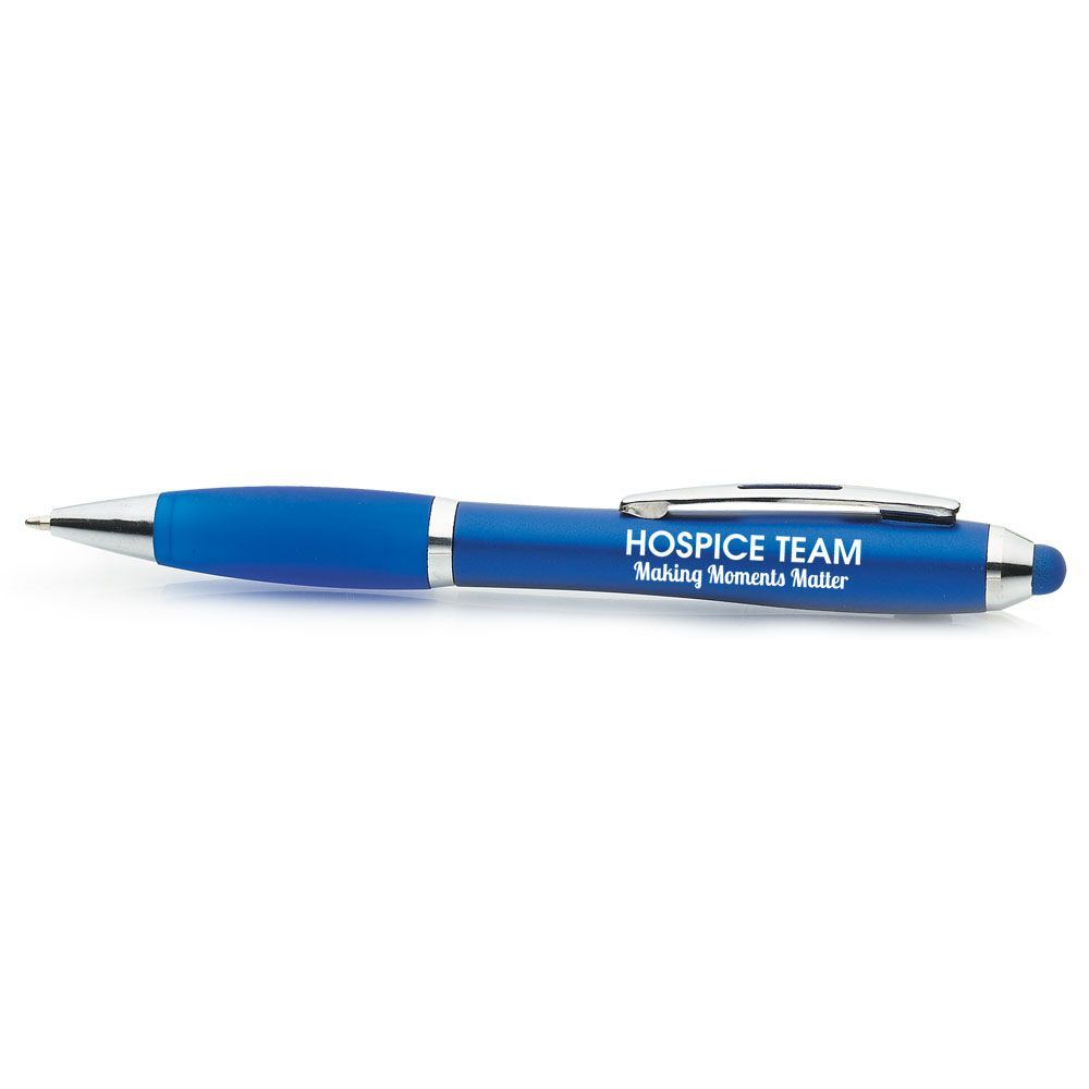 Hospice Team: Making Moments Matter Curve Stylus Pen