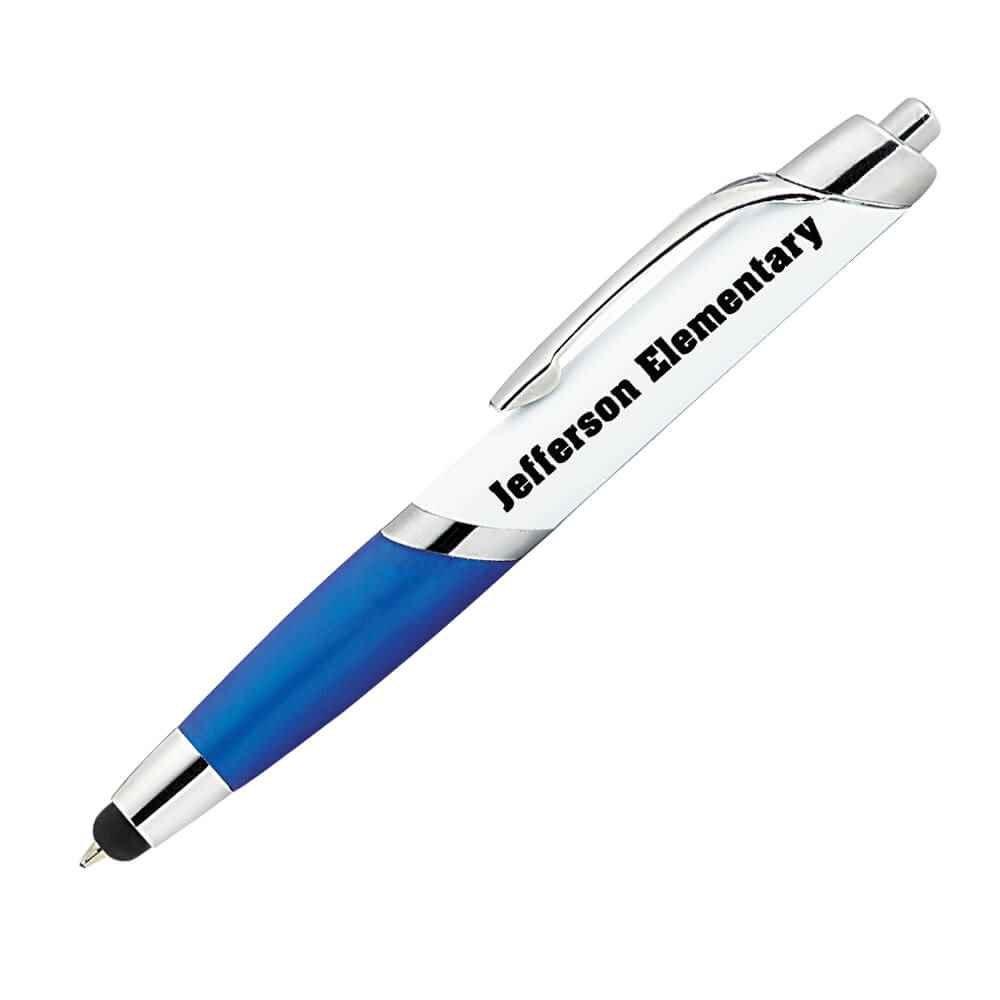 Aventura Blue Stylus Pen - Personalization Available