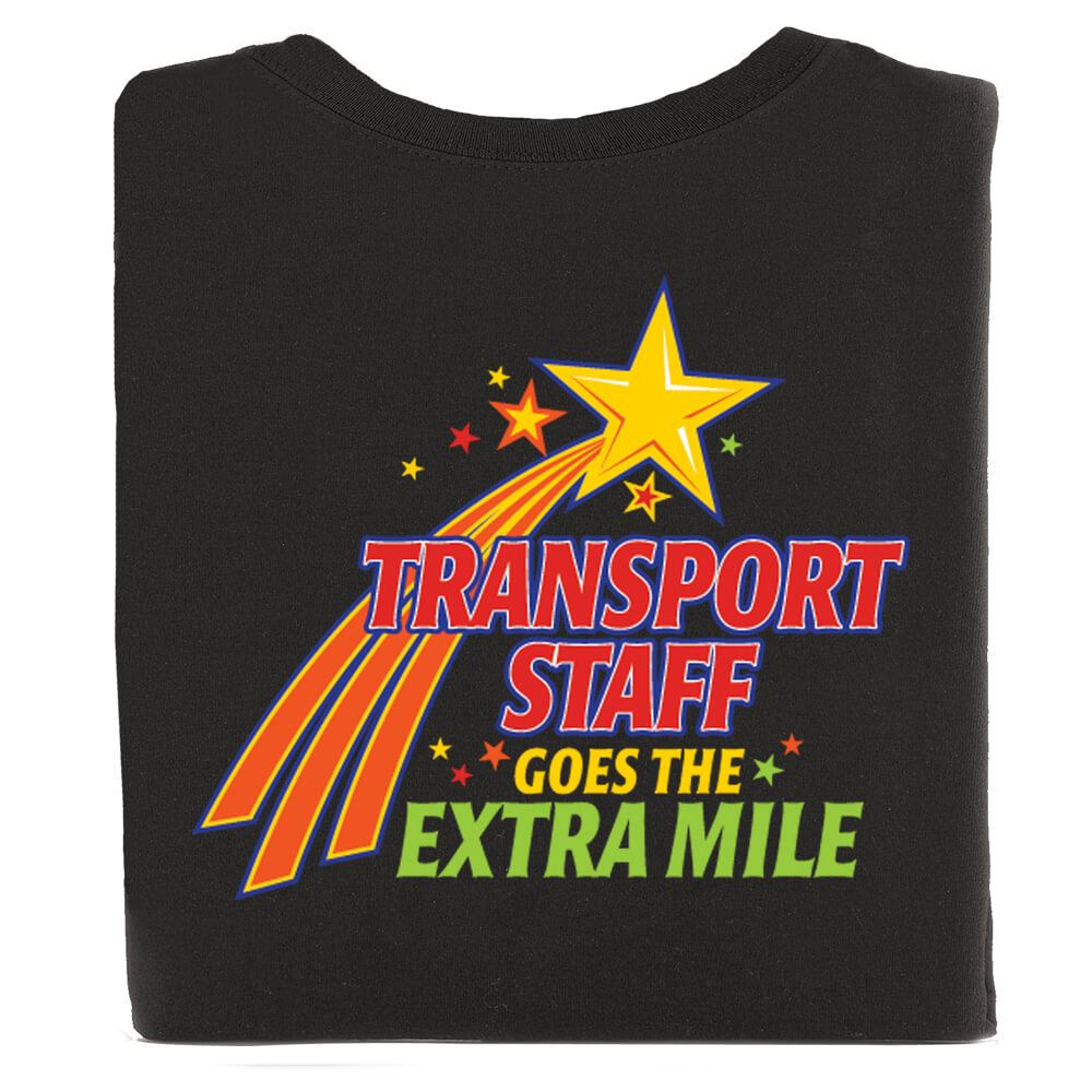 Patient Transport 2-Sided T-Shirt - Personalized