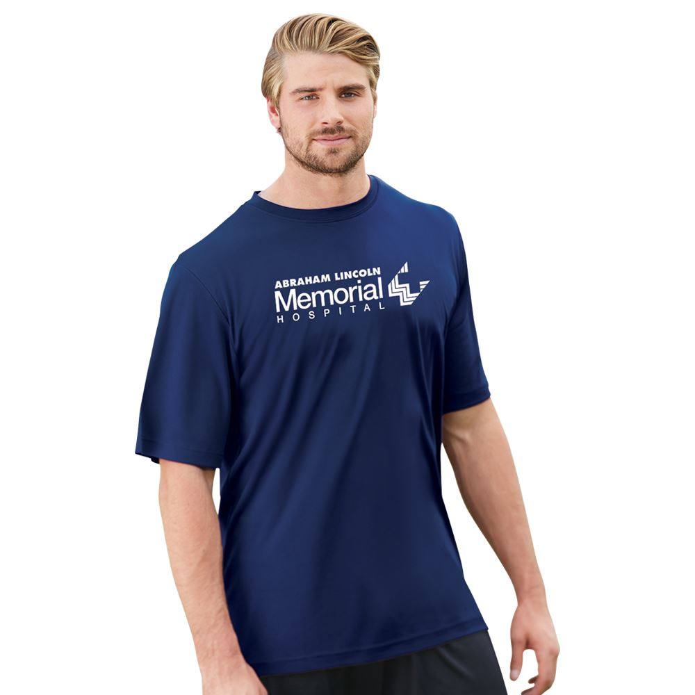 Team 365™ Men's Zone Performance Wicking Short-Sleeve T-Shirt - Silkscreened Personalization Available