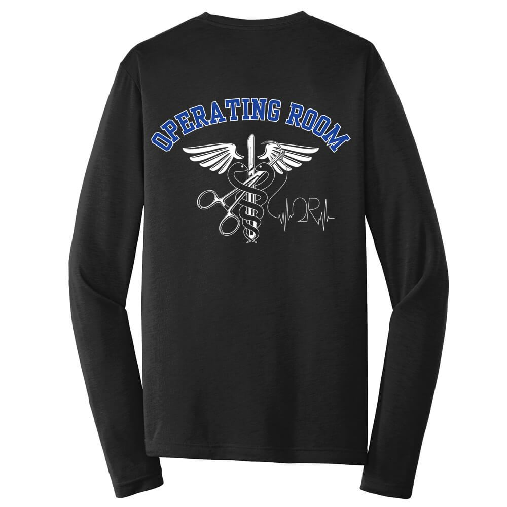 Operating Room 2-Sided Long-Sleeve T-Shirt - Personalized