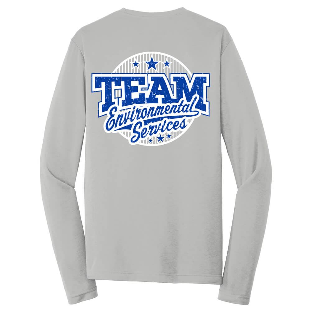 Team Environmental Services 2-Sided Long-Sleeve T-Shirt - Personalized