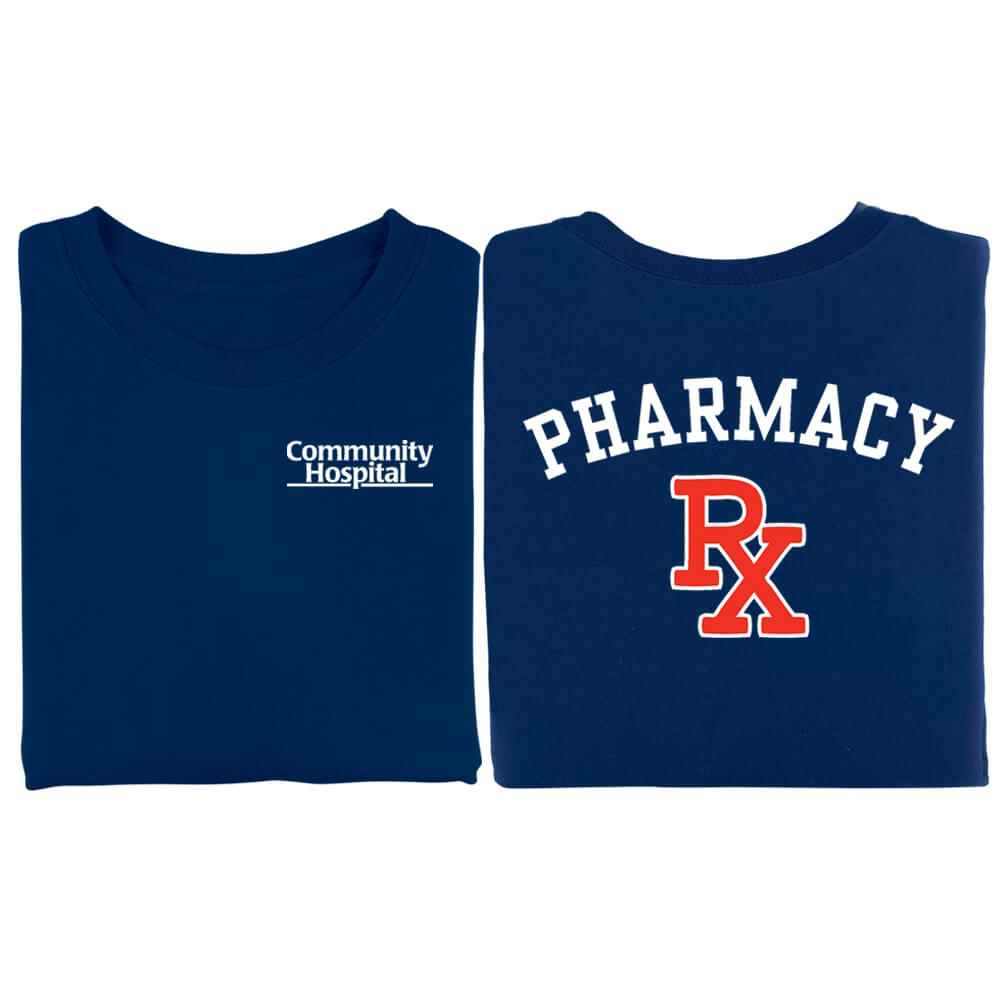 Pharmacy RX 2-Sided T-Shirt - Personalized