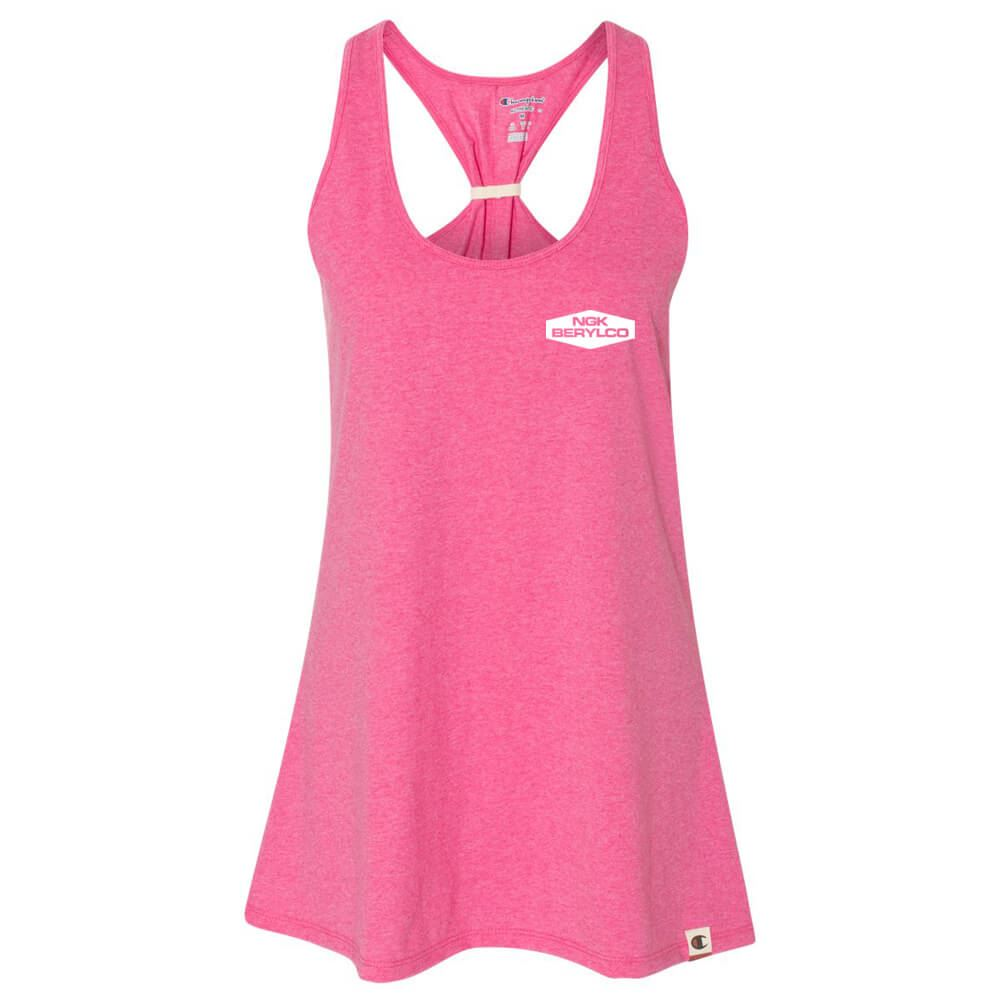 Champion® Originals Women's Triblend Swing Tank - Personalization Available