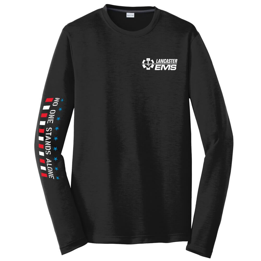 No One Stands Alone Long-Sleeve T-Shirt - Personalized