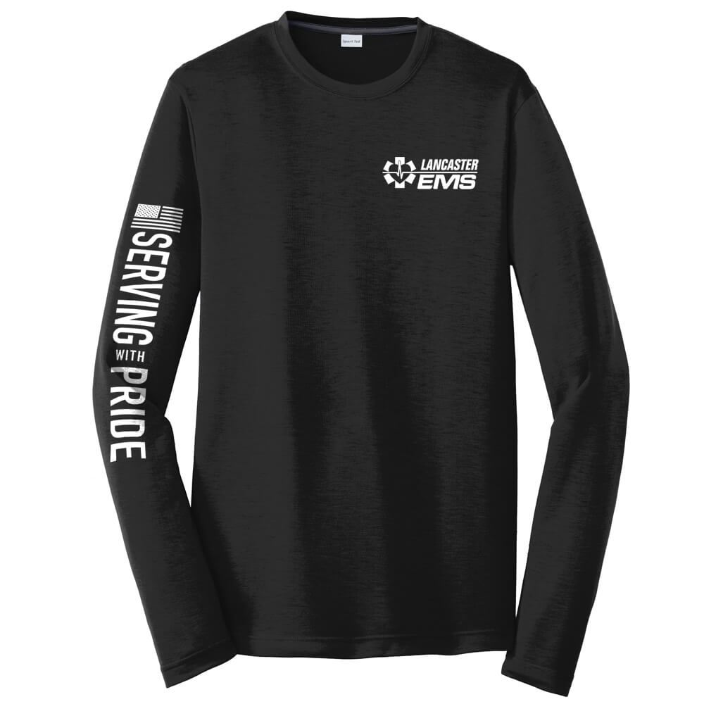 Serving With Pride Long Sleeve T-Shirt - Personalized