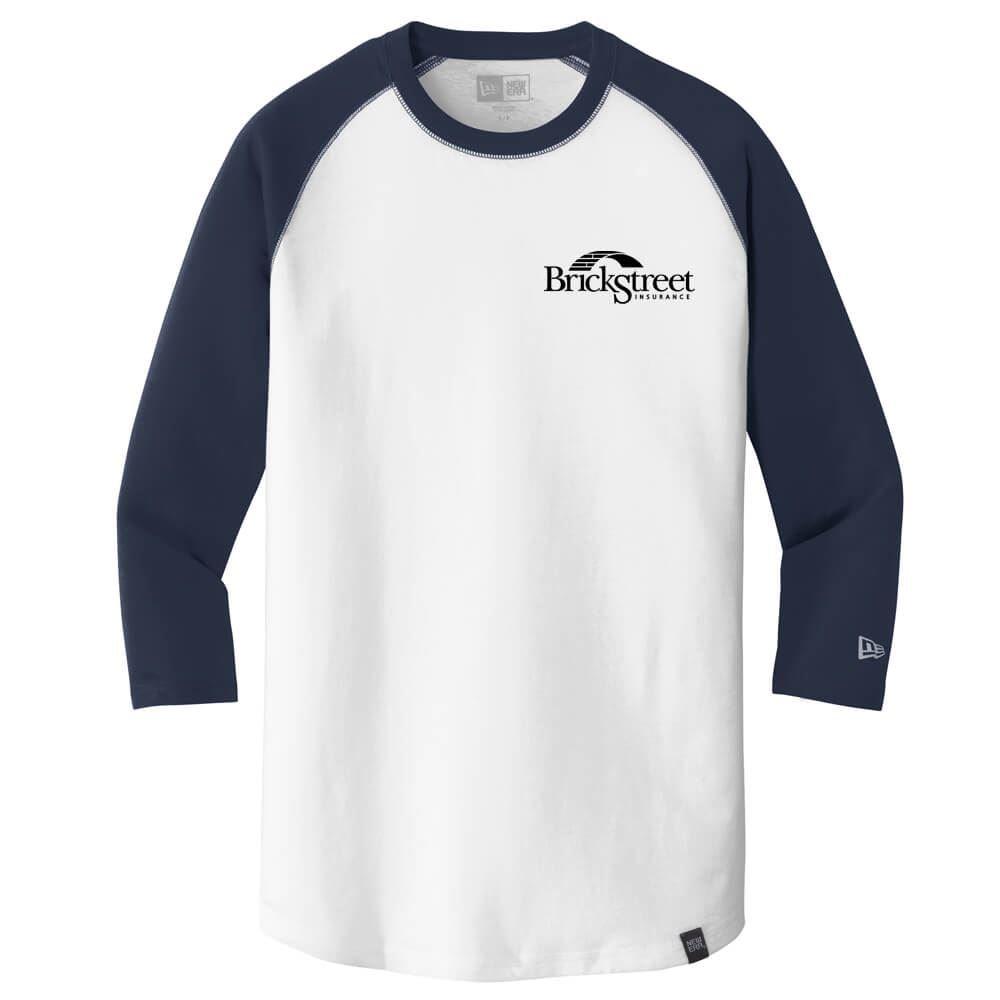 New Era® Men's Heritage Blend 3/4-Sleeve Baseball Raglan Tee - Personalization Available