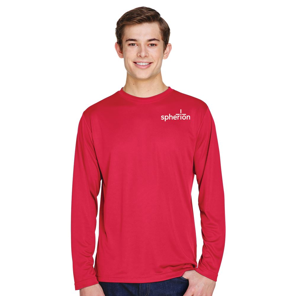 Team 365™ Men's Zone Performance Long-Sleeve Tee - Personalization Available