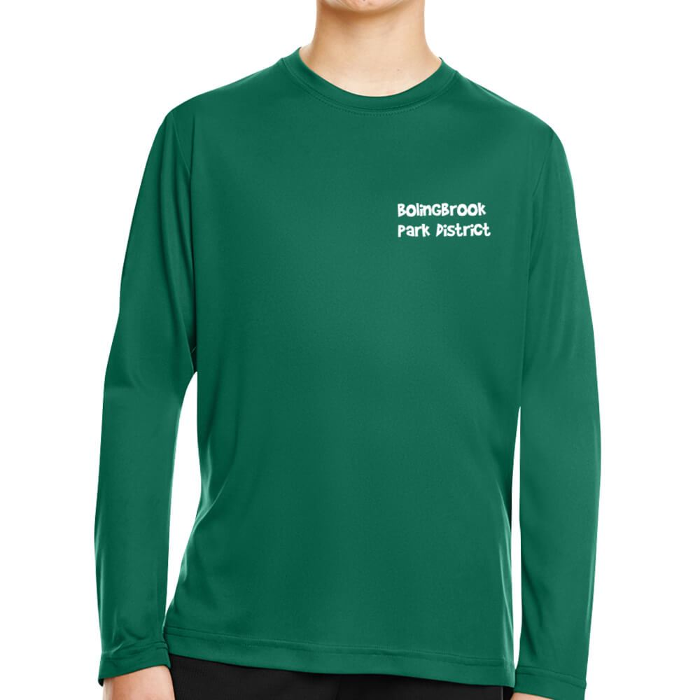 Team 365™ Youth Zone Performance Long-Sleeve T-Shirt - Personalization Available