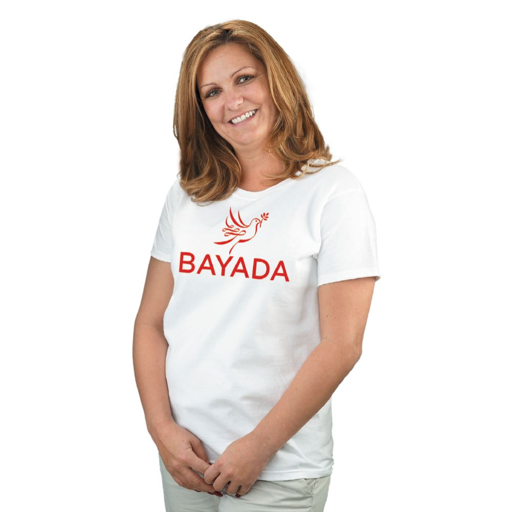 Gildan® Unisex Heavy Cotton T-Shirt: White - Silkscreen Personalization Available