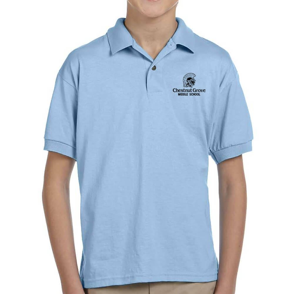 Gildan® Youth Dryblend 50/50 Jersey Polo: Premium Colors - Personalization Available