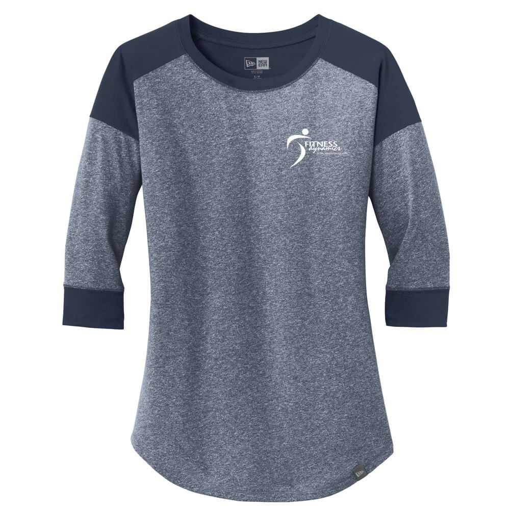 New Era® Women's Heritage Blend 3/4-Sleeve Baseball Raglan Tee - Personalization Available