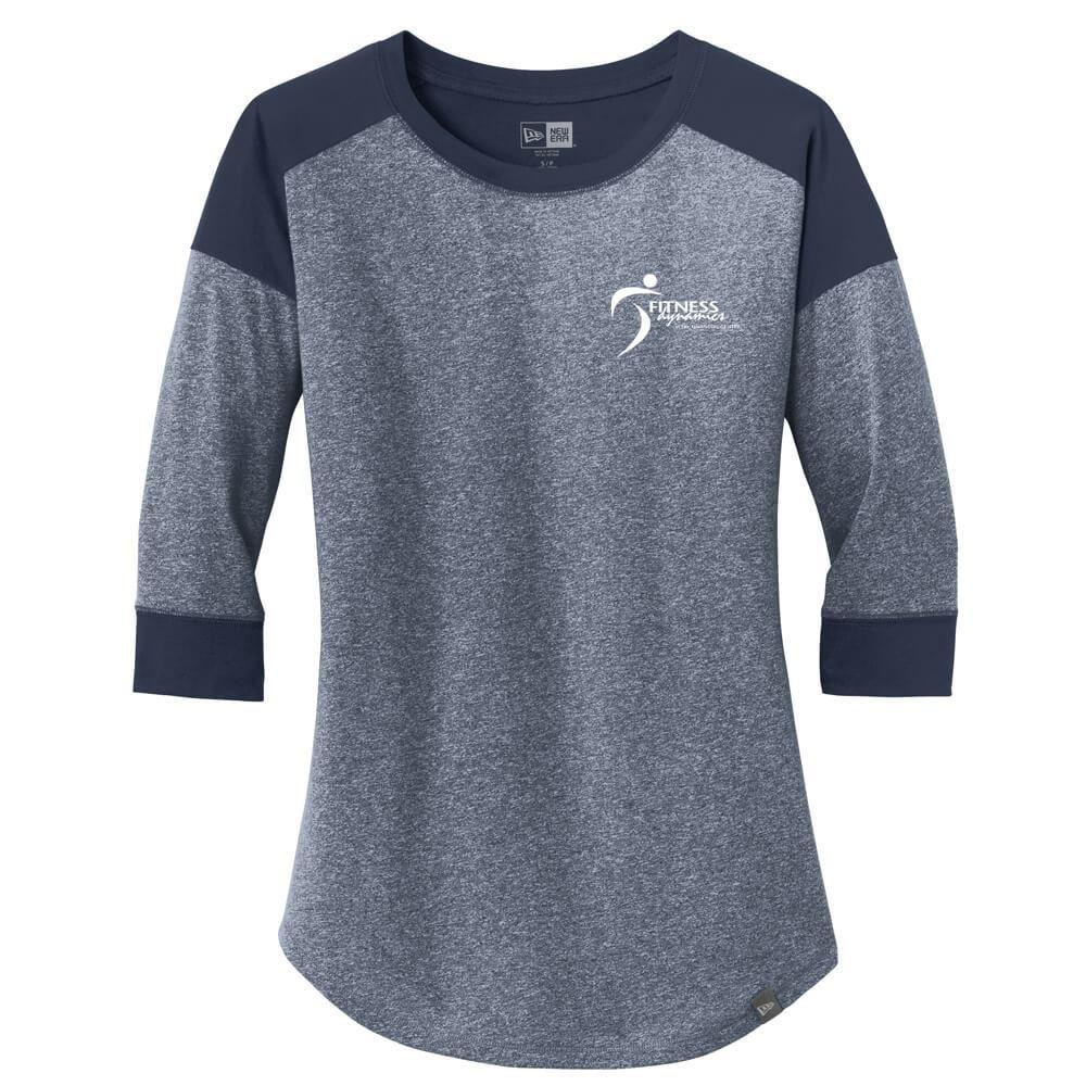 New Era® Women's Heritage Blend 3/4-Sleeve Baseball Raglan Tee - Personalization Available