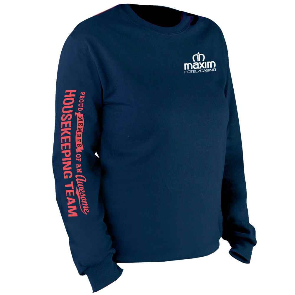 Proud Member Of An Awesome Housekeeping Team Long Sleeve T-Shirt - Personalized