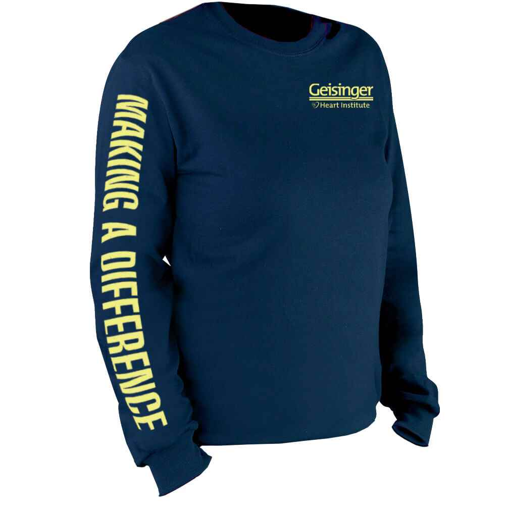 Making A Difference Long-Sleeve Recognition T-Shirt - Personalization Available