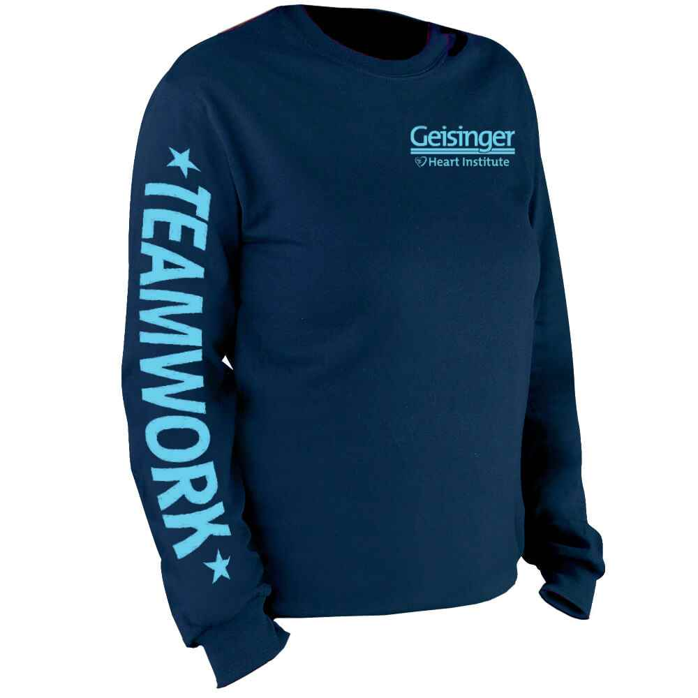Teamwork Long Sleeve Recognition T-Shirt - Personalized