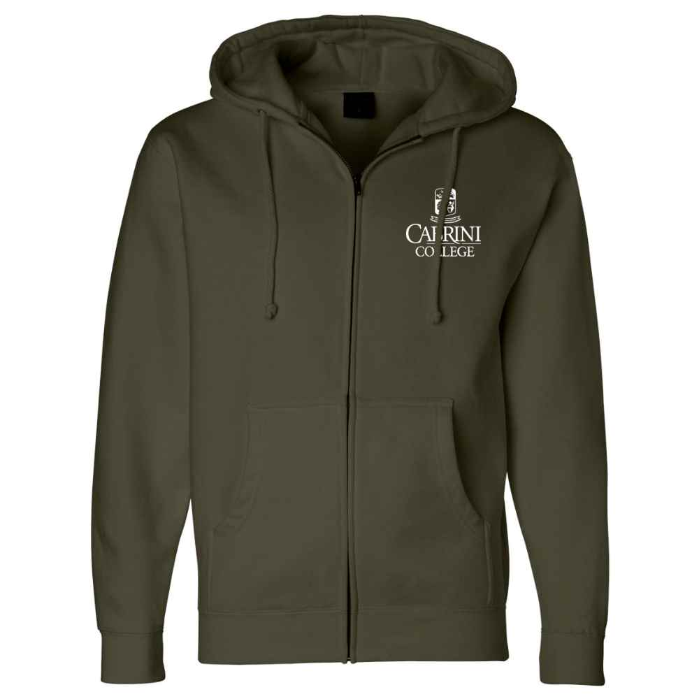 Independent Trading Co.® Heavyweight Zip Hooded Sweatshirt - Silkscreen Personalization Available