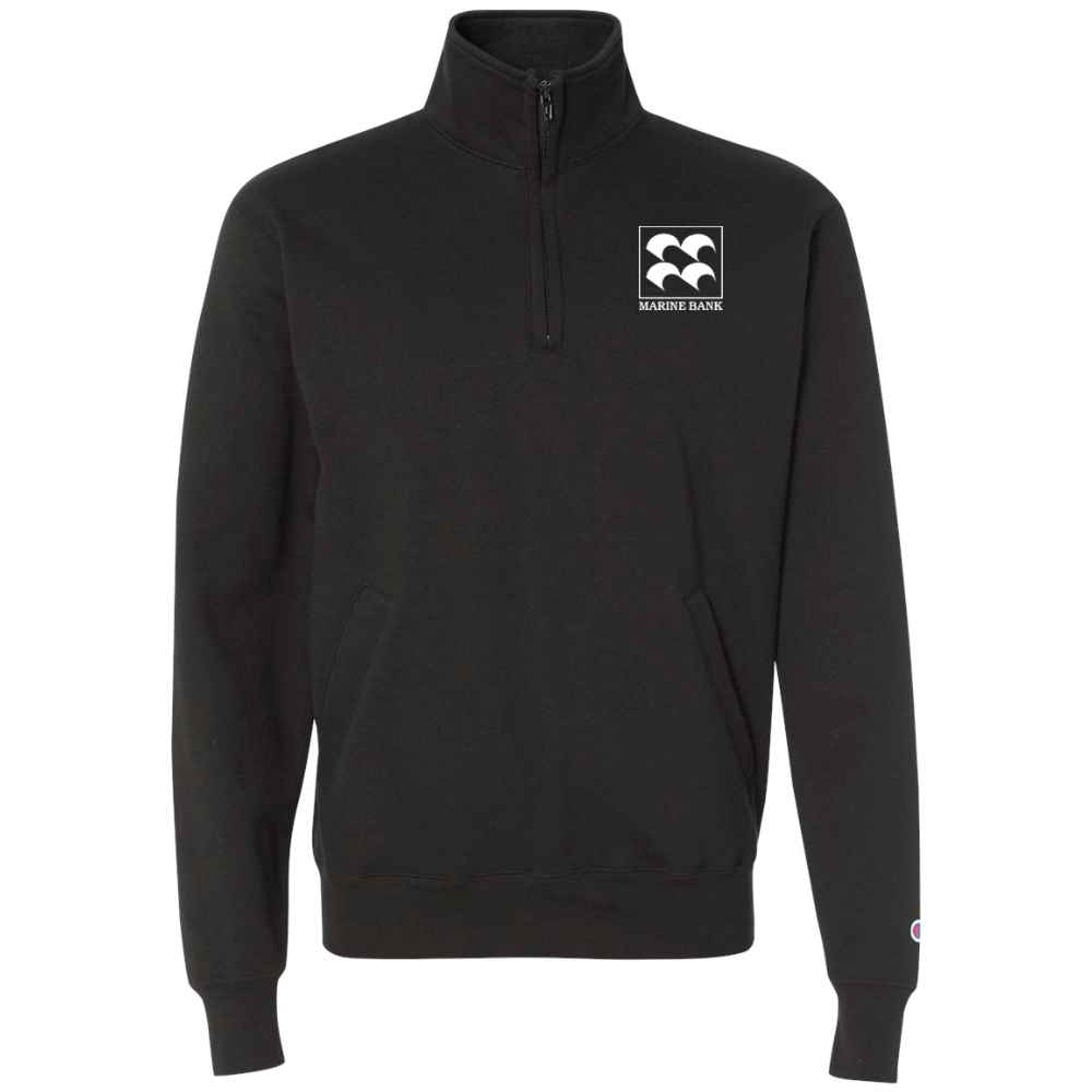 Champion® Adult 9-oz. Double Dry Eco® Quarter-Zip Pullover - Silkscreen Personalization Available