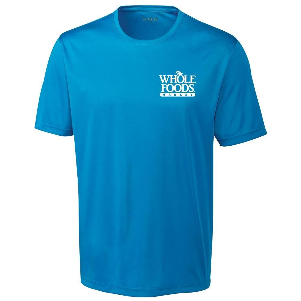 Clique® By Cutter & Buck® Men's Spin Jersey T-Shirt - Silkscreen Personalization Available