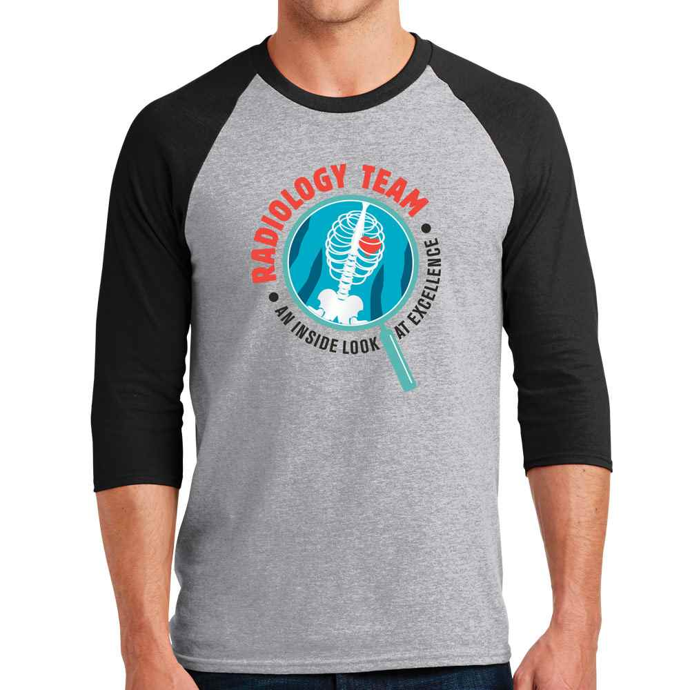 Radiology Team: An Inside Look At Excellence Gildan® Heavy Cotton™ Raglan Sleeve T-Shirt