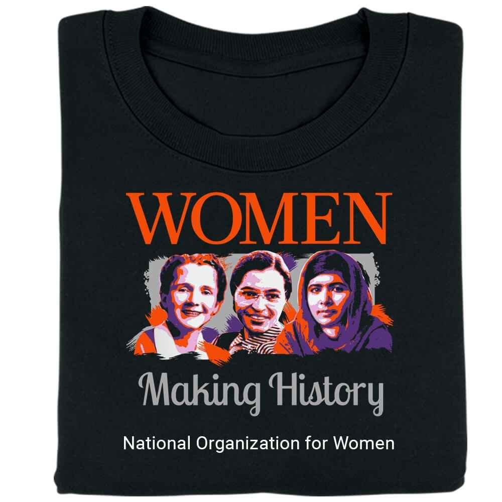 Women Making History Unisex T-Shirt - Personalization Available