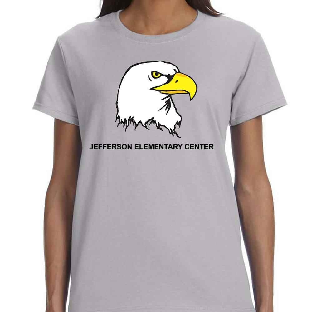 Women's Gildan® Heavy Cotton Short-Sleeve T-Shirt - Personalization Available