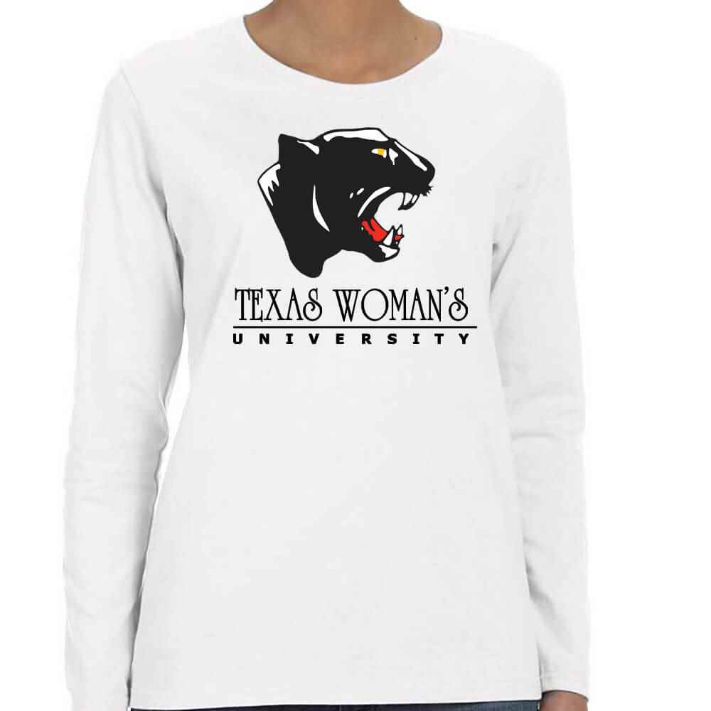 Women's Gildan® Heavy Cotton Long-Sleeve T-Shirt - Personalization Available