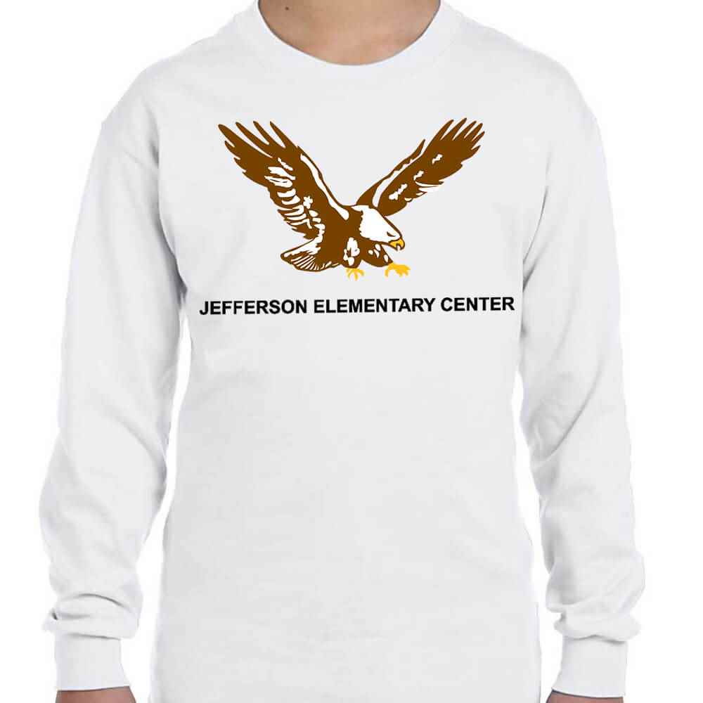 Youth Gildan® Heavy Cotton Long-Sleeve T-Shirt - Personalization Available