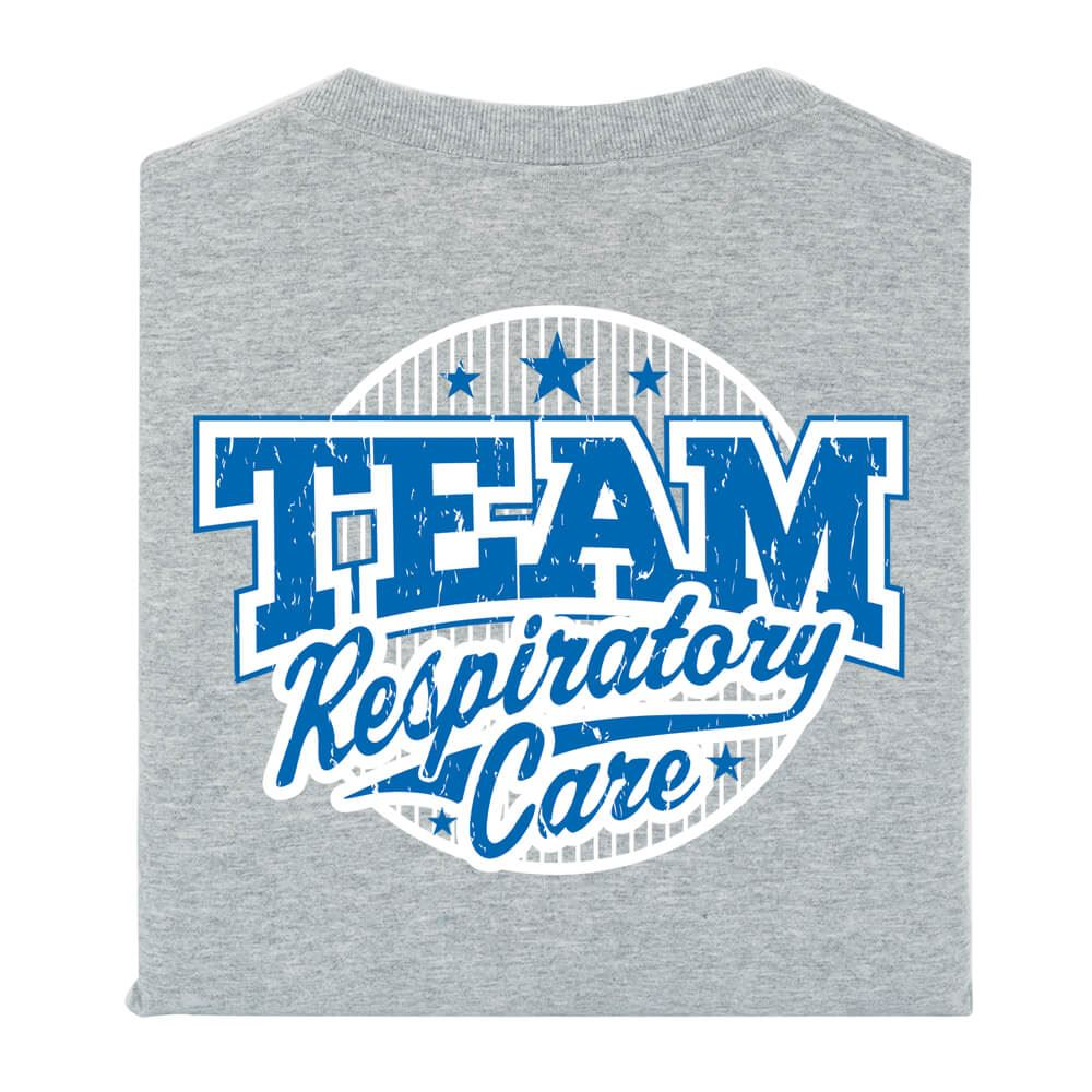 Team Respiratory Care 2-Sided T-Shirt- Personalized