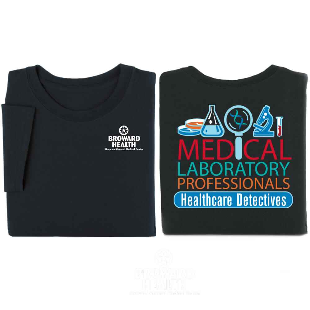 Medical Professionals: Healthcare Detectives Short-Sleeve Two-Sided T-Shirt - Personalization Available