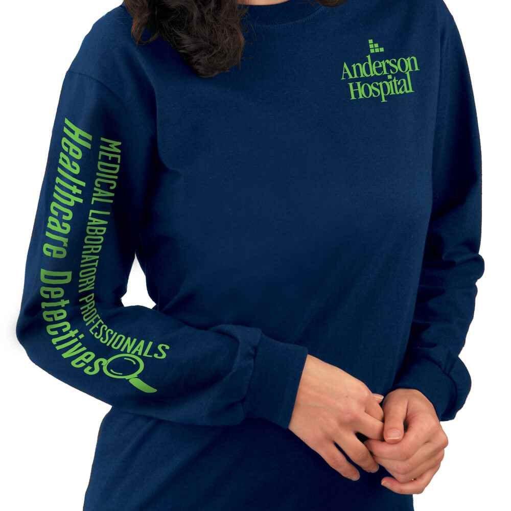 Holographic Nurse Pharmacist long sleeve shirt