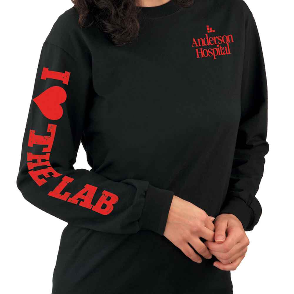 I Love The Lab Long-Sleeve Recognition T-Shirt - Personalization Available