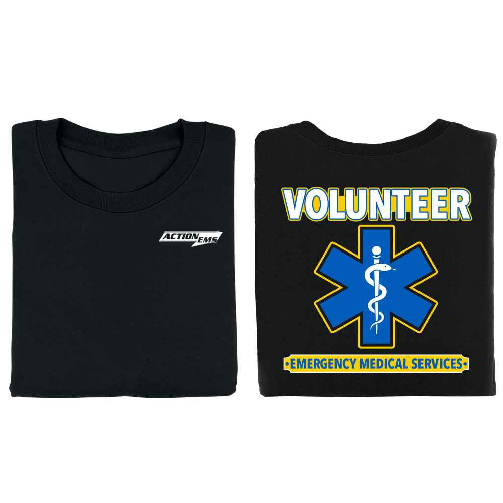 Volunteer Emergency Medical Services Two-Sided T-Shirt - Personalized